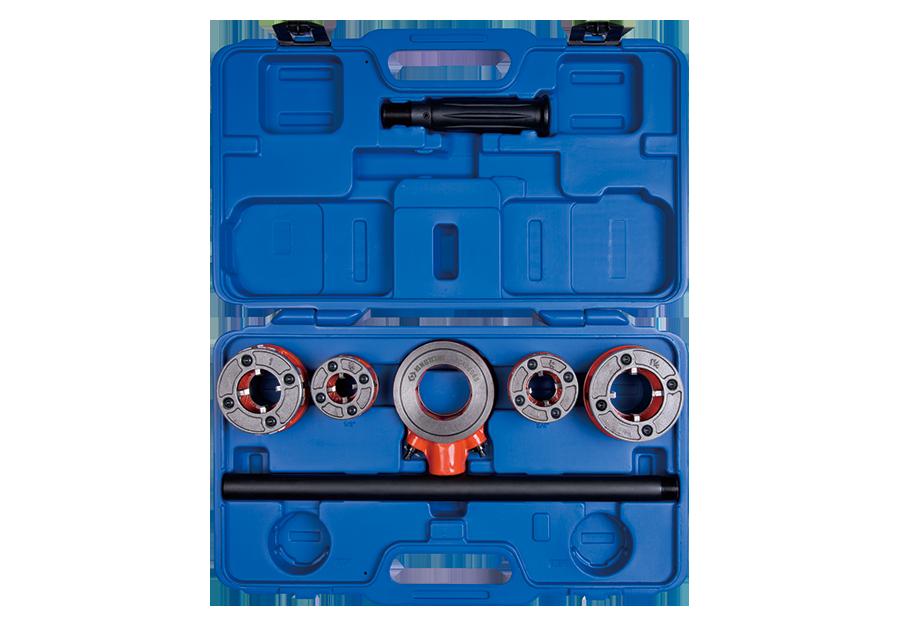 7件式 鐵管絞牙器組(BSPT)  KING TONY  7CA0606S, 永安實業工具購物網