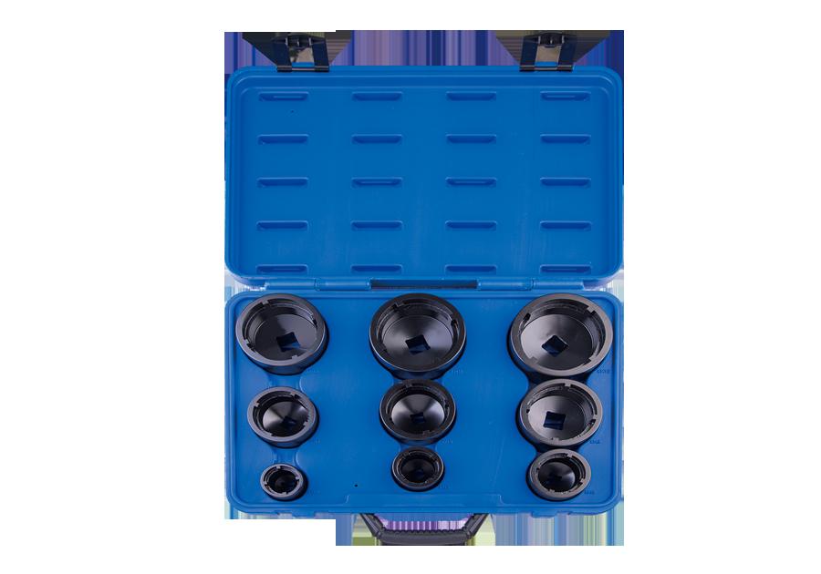 9件式 固定軸承套筒組(內齒)  KING TONY  7K09MP, 永安實業工具購物網