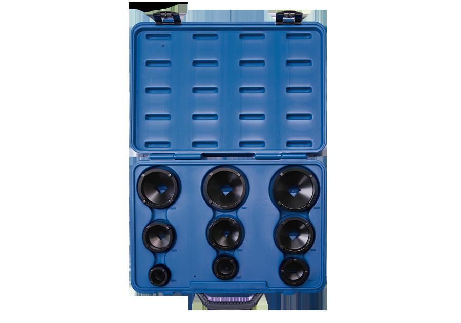 9件式 固定軸承套筒組(外齒)  KING TONY  7K09MP01, 永安實業工具購物網