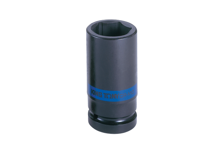 "1""DR. 6PT Metric Deep Impact Socket  KING TONY  8435M"