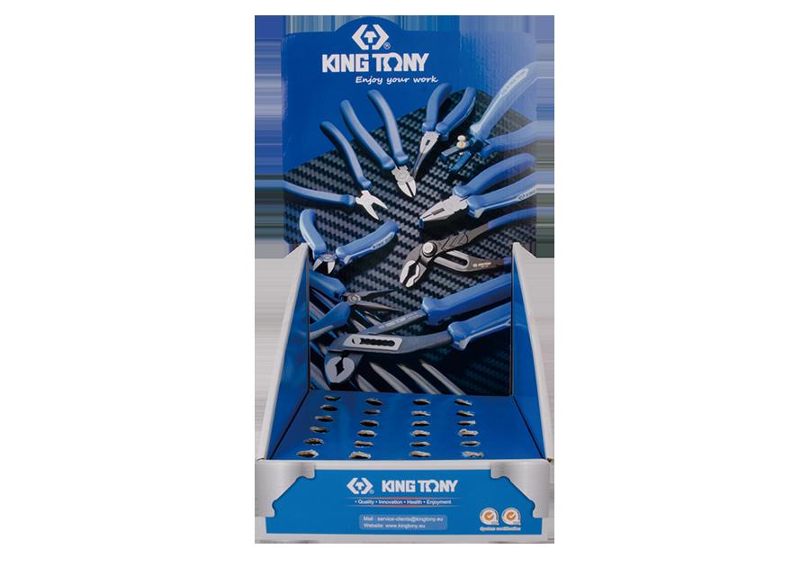鉗類展示盒(沾膠握把)  KING TONY  87116, 永安實業工具購物網