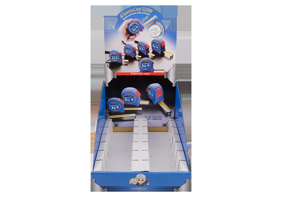 捲尺展示盒  KING TONY  87118, 永安實業工具購物網