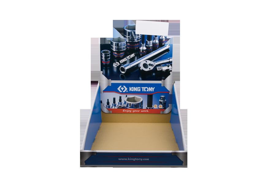 套筒組套展示盒  KING TONY  87140, 永安實業工具購物網