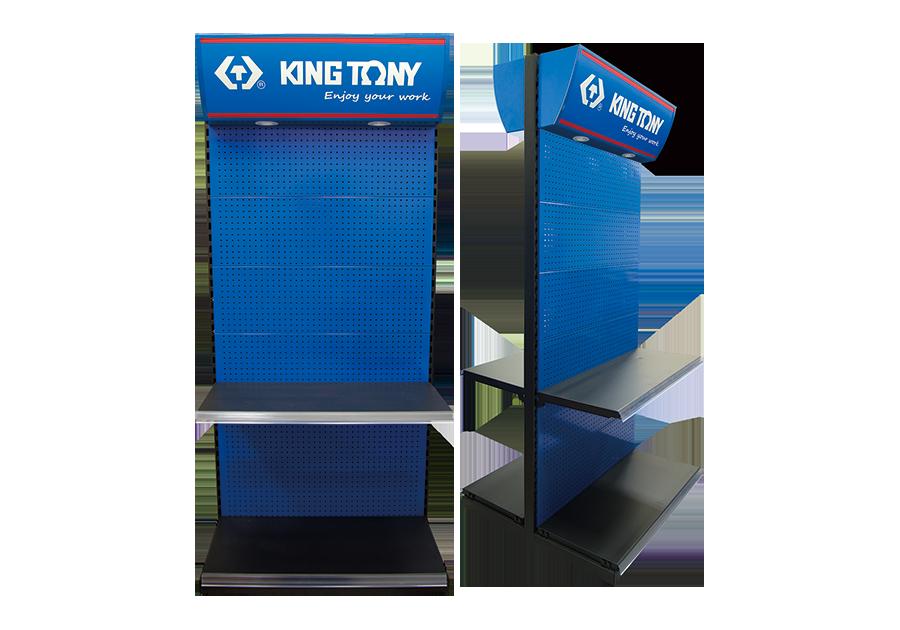 雙面工具展示架 | KING TONY | 87307A
