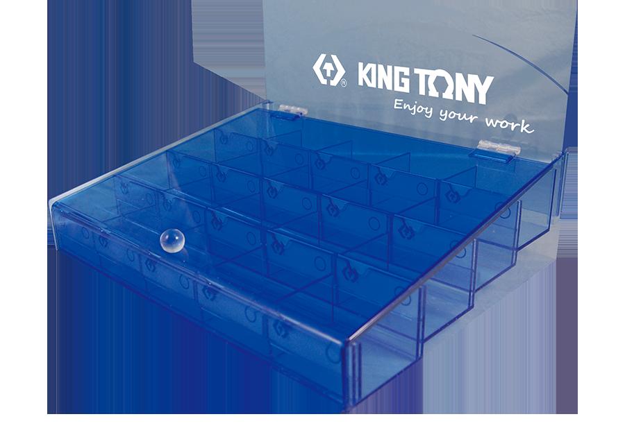 20格 起子頭展示盒  KING TONY  87352, 永安實業工具購物網