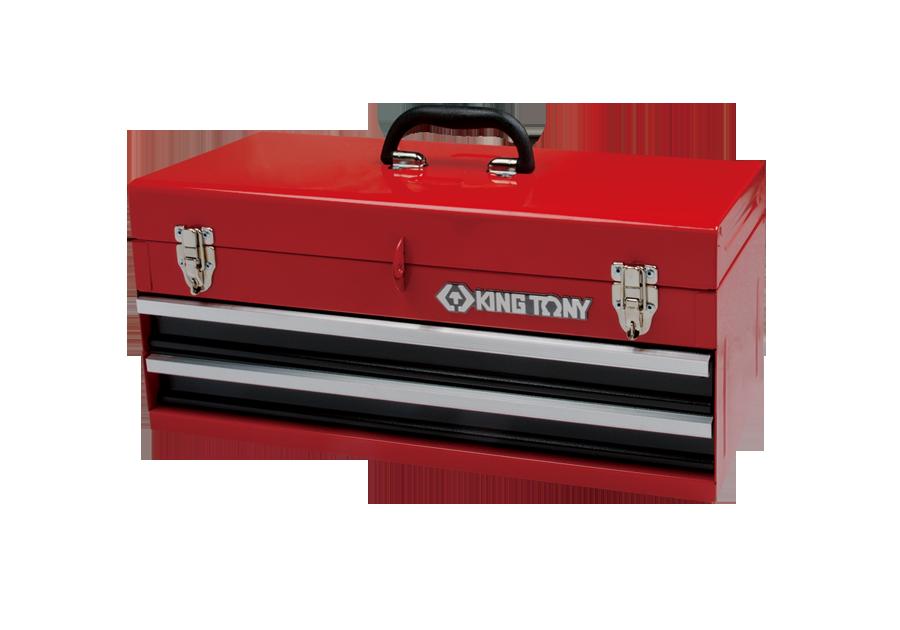 兩抽屜手提式工具箱  KING TONY  87401-2, 永安實業工具購物網