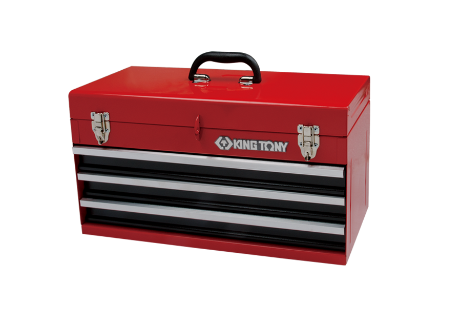三抽屜手提式工具箱  KING TONY  87401-3, 永安實業工具購物網
