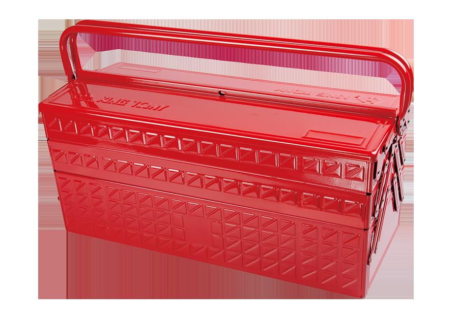 加長型3層手提工具箱  KING TONY  87408, 永安實業工具購物網