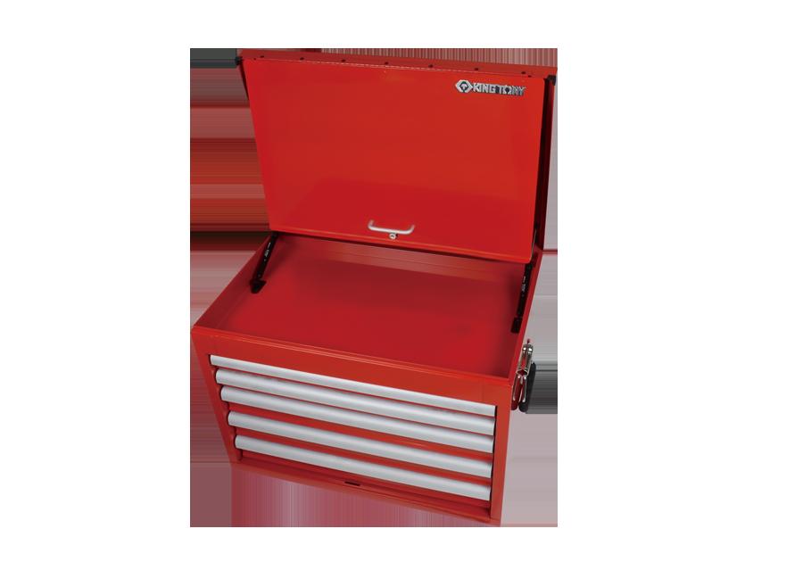 五抽屜上層工具箱 鋼珠軌道 (更深)  KING TONY  87419-5B, 永安實業工具購物網