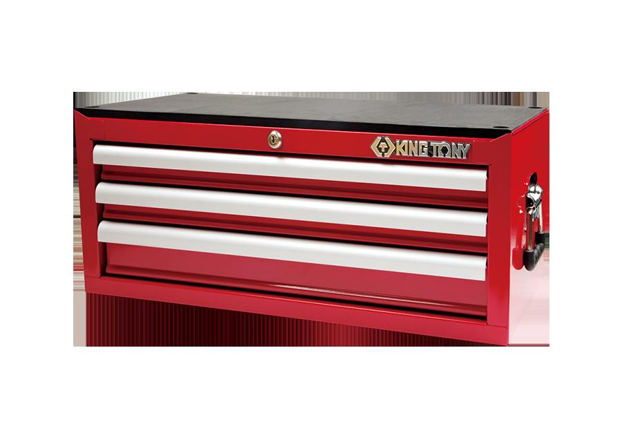 三抽屜中層工具箱 鋼珠滑軌  KING TONY  87421-3B, 永安實業工具購物網