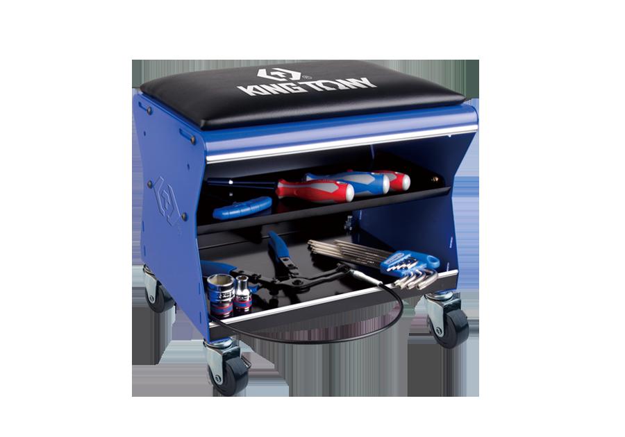移動工作椅(不含工具)  KING TONY  87452C-B, 永安實業工具購物網