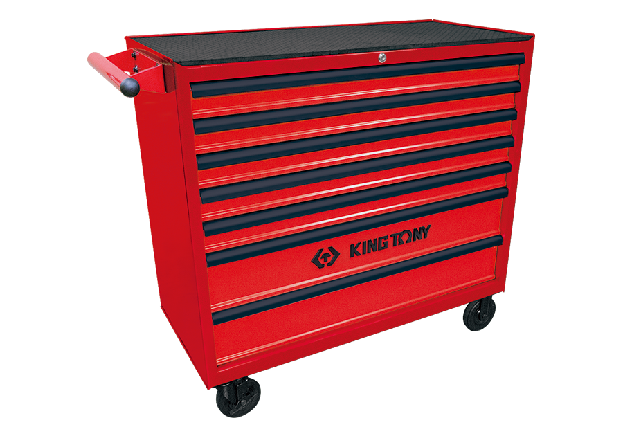 7 Drawers Risk-Free Tool Trolley (Large)  KING TONY  87462-7G