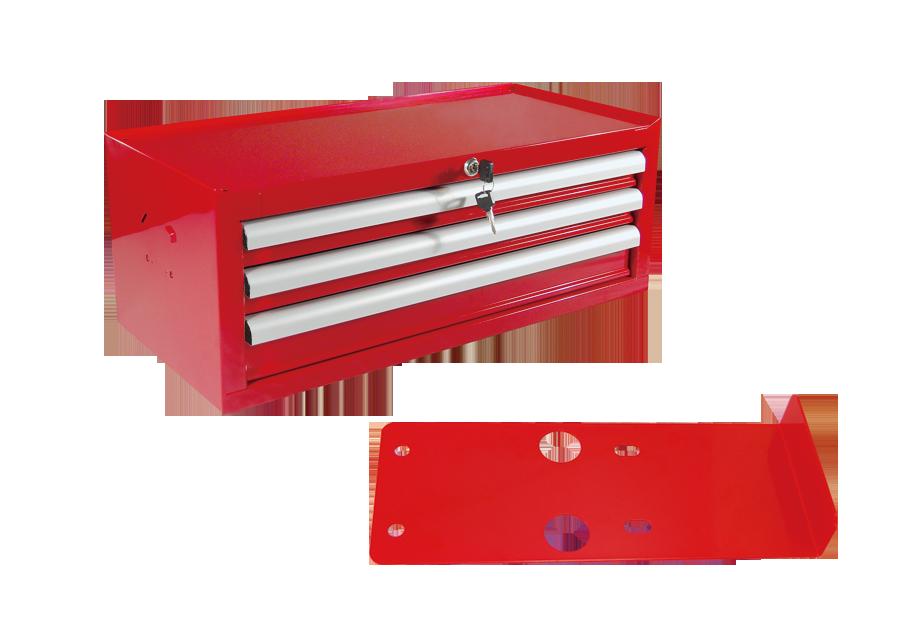 3抽工具箱(工具桌用)  KING TONY  87502P02, 永安實業工具購物網