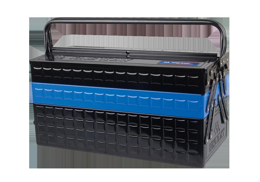 三層式手提式工具箱  KING TONY  87A051-KB, 永安實業工具購物網