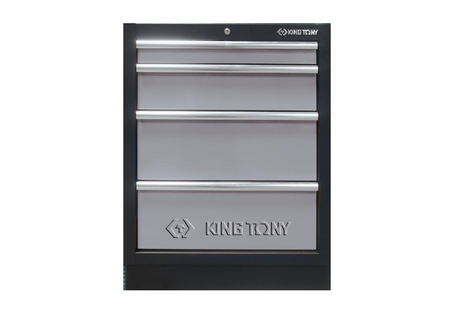 四抽 下層櫃(黑灰)  KING TONY  87D11-04A-KG, 永安實業工具購物網