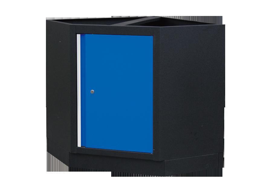 轉角櫃(黑藍)  KING TONY  87D11-13A-KB, 永安實業工具購物網