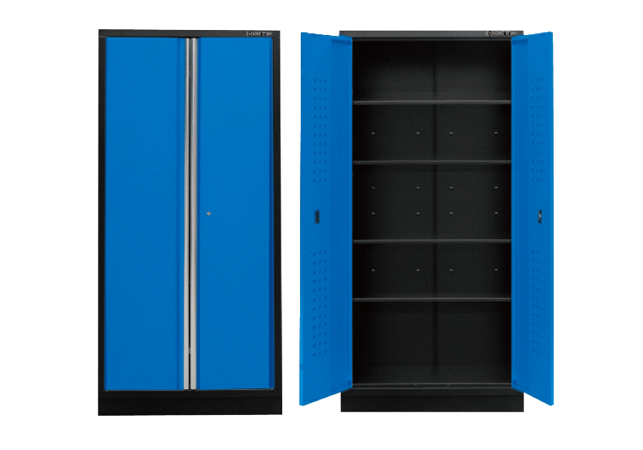 Tall Cabinet (black & blue)  KING TONY  87D11-18A-KB
