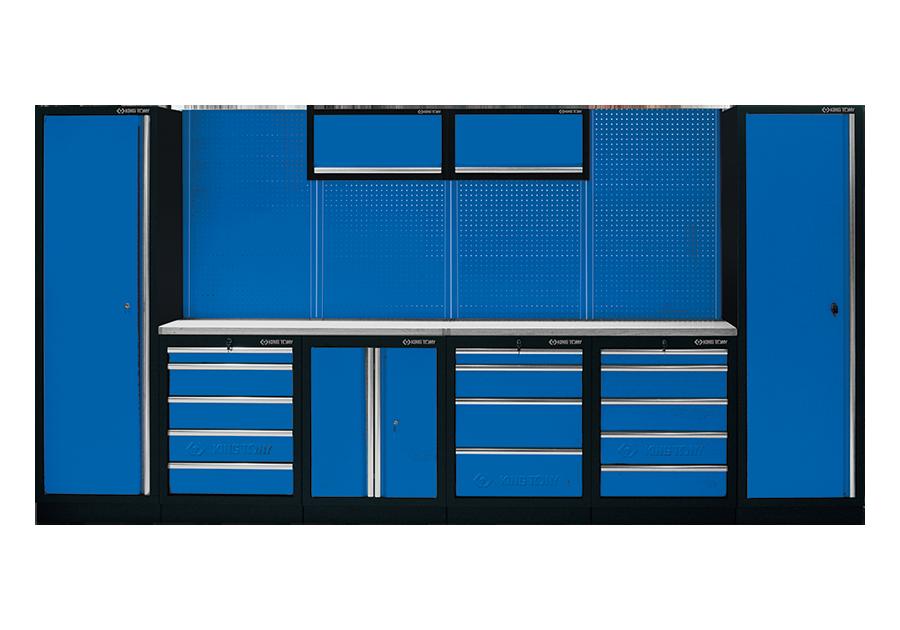工貝系統櫃(黑藍)  KING TONY  87D11A-KB, 永安實業工具購物網