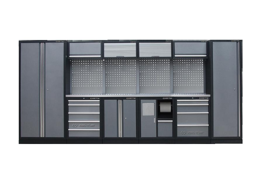 工貝系統櫃(黑灰)  KING TONY  87D11X02SA-KG, 永安實業工具購物網