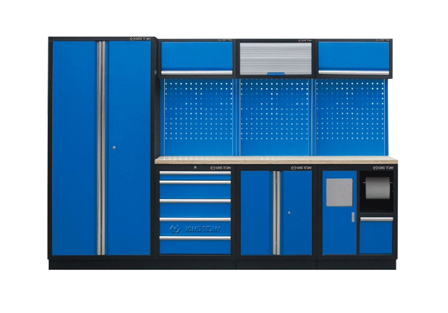工貝系統櫃(黑藍)  KING TONY  87D11X03A-KB, 永安實業工具購物網