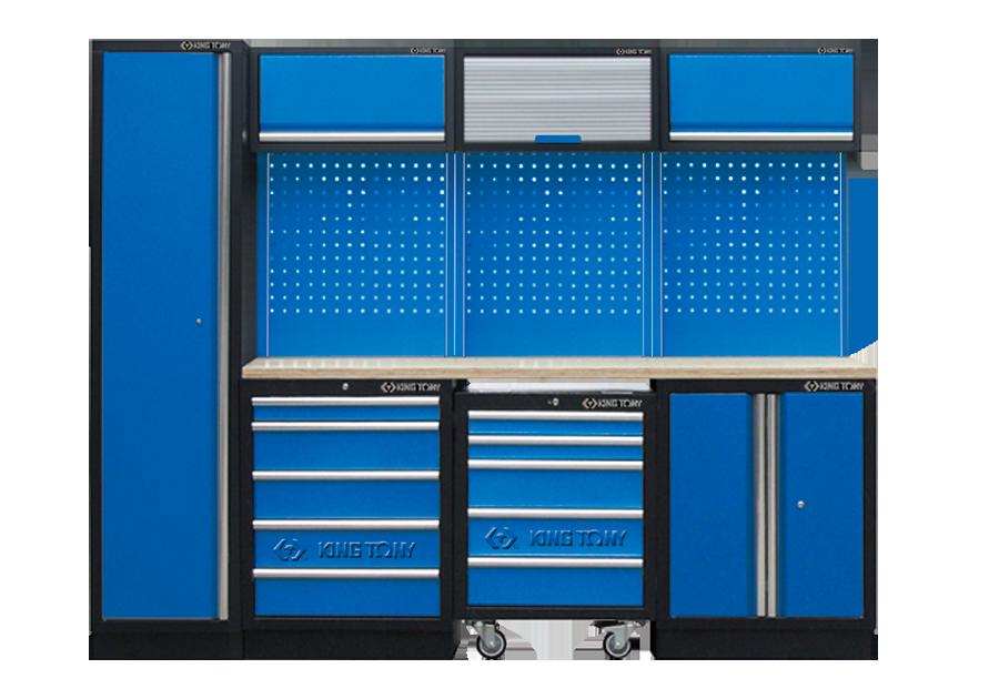 工貝系統櫃(黑藍)  KING TONY  87D11X04A-KB, 永安實業工具購物網