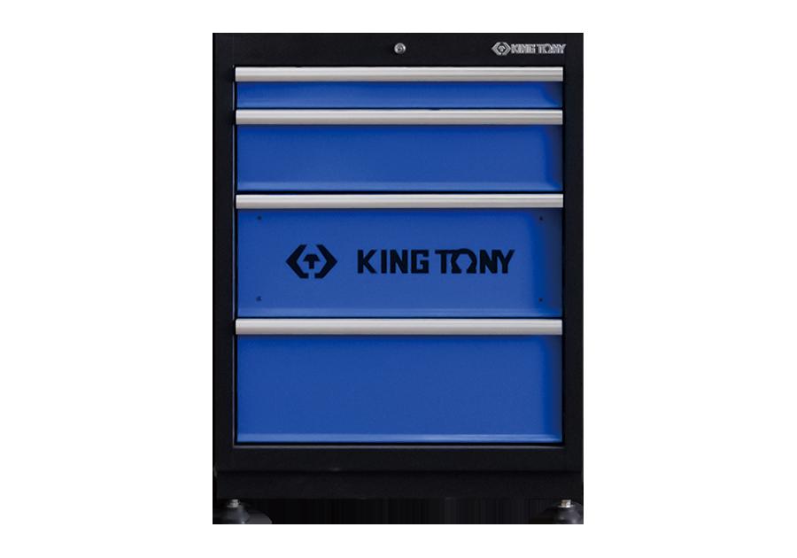 四抽 下層櫃(黑藍)  KING TONY  87D21-04A-KB, 永安實業工具購物網