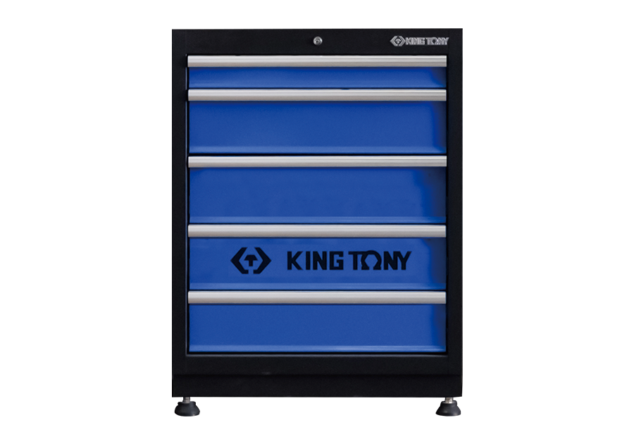5 Drawers Cabinet (black & blue)  KING TONY  87D21-05A-KB