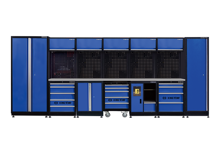 工貝系統櫃(黑藍)  KING TONY  87D21X01SA-KB, 永安實業工具購物網