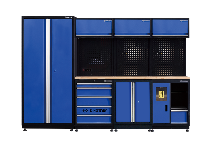 工貝系統櫃(黑藍)  KING TONY  87D21X03A-KB, 永安實業工具購物網