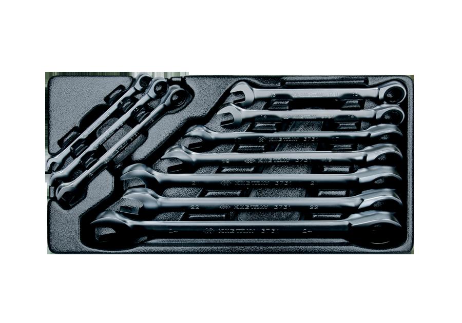 10件式 單向棘輪扳手工具車組套  KING TONY  9-12110MR, 永安實業工具購物網