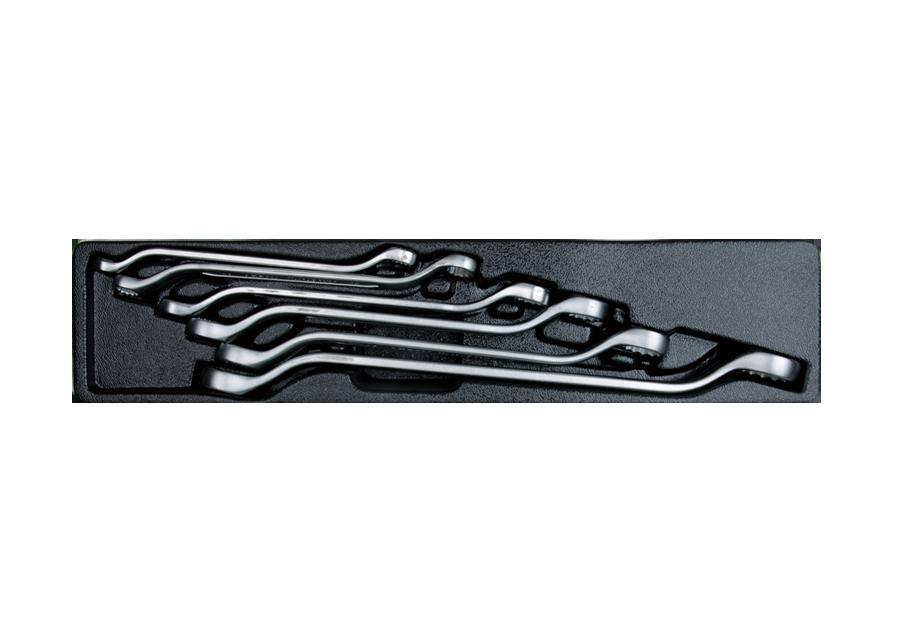 6件式 雙梅45度扳手工具箱組套  KING TONY  9-1606MR, 永安實業工具購物網