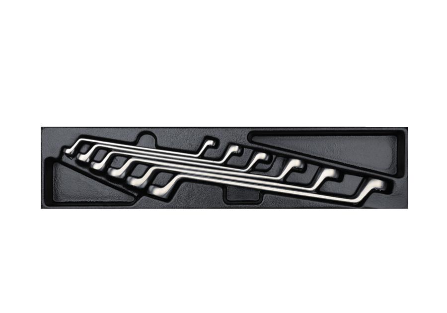 6件式 複合扳手工具箱組套  KING TONY  9-1716MR, 永安實業工具購物網