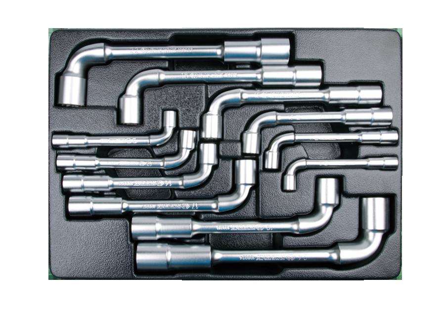 12件式 工具箱(車)用L型扳手組  KING TONY  9-1912MR, 永安實業工具購物網