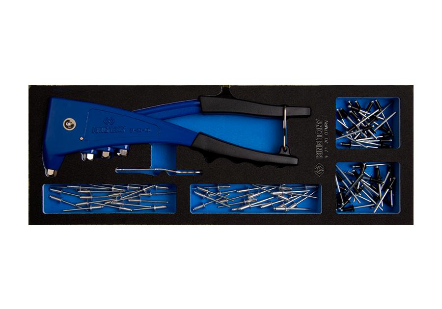 121件式 專業型拉釘機工具車組套(EVA底盤) | KING TONY | 9-21-20-07MRV