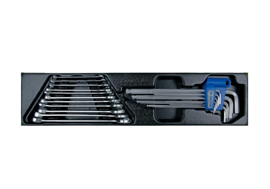 20件式 扳手工具箱組套  KING TONY  9-90120MR, 永安實業工具購物網