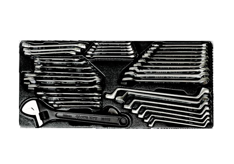 38件式 工具箱組套  KING TONY  9-90138CR, 永安實業工具購物網