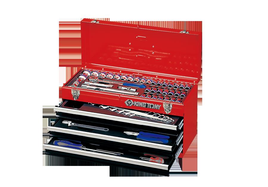 69件式 手提式工具箱組  KING TONY  901-068MR, 永安實業工具購物網