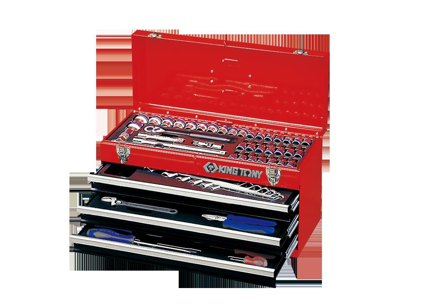 69件式 手提式工具箱組  KING TONY  901-069MR, 永安實業工具購物網