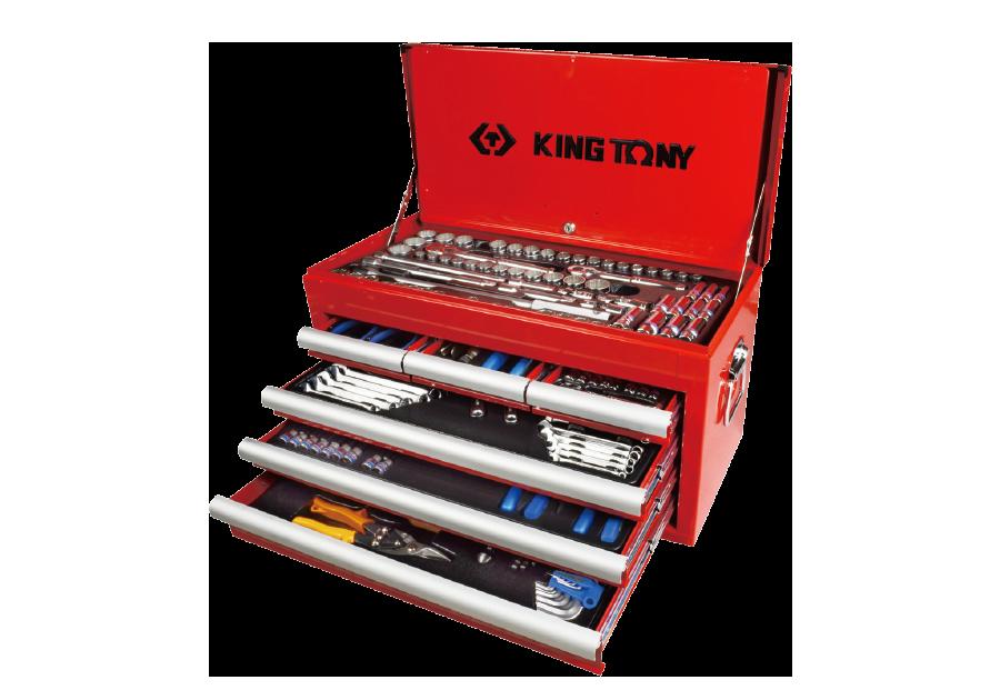 234件式 工具箱組  KING TONY  911-003CR01, 永安實業工具購物網