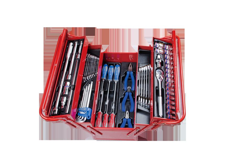 62件式 手提工具箱組  KING TONY  9A05-062MR, 永安實業工具購物網