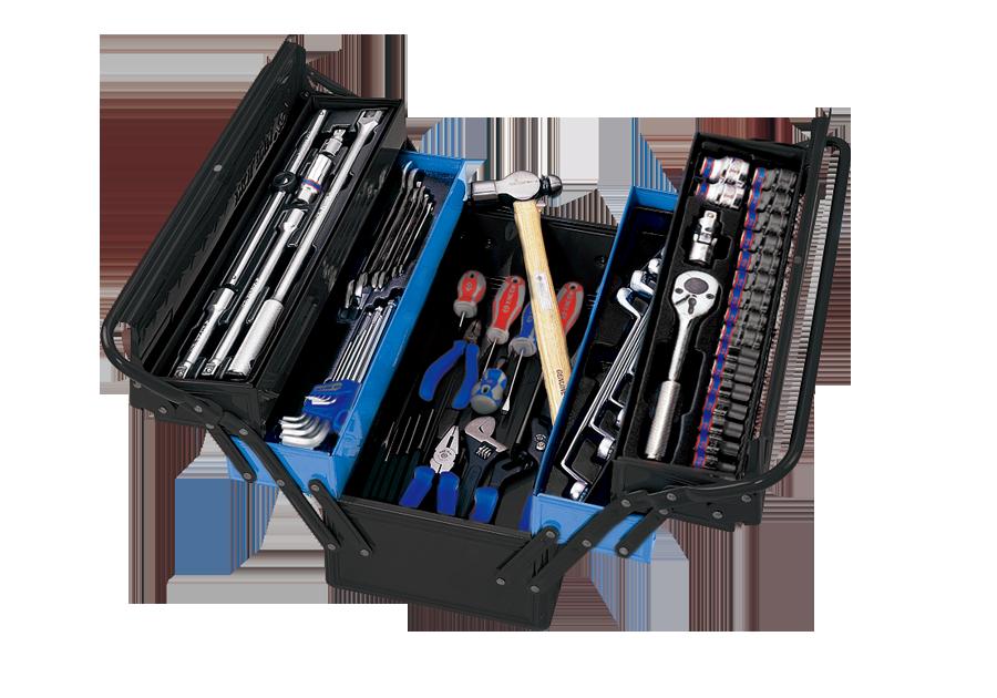 65件式 手提工具箱組  KING TONY  9A05-065MR-KB, 永安實業工具購物網