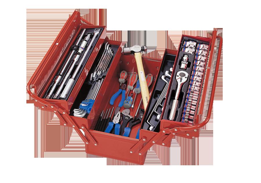 65件式 手提工具箱組  KING TONY  9A05-065MR, 永安實業工具購物網