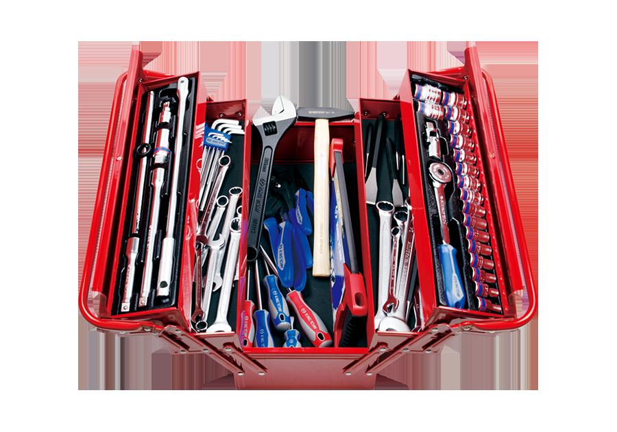 68件式 手提工具箱組  KING TONY  9A05-068MR, 永安實業工具購物網
