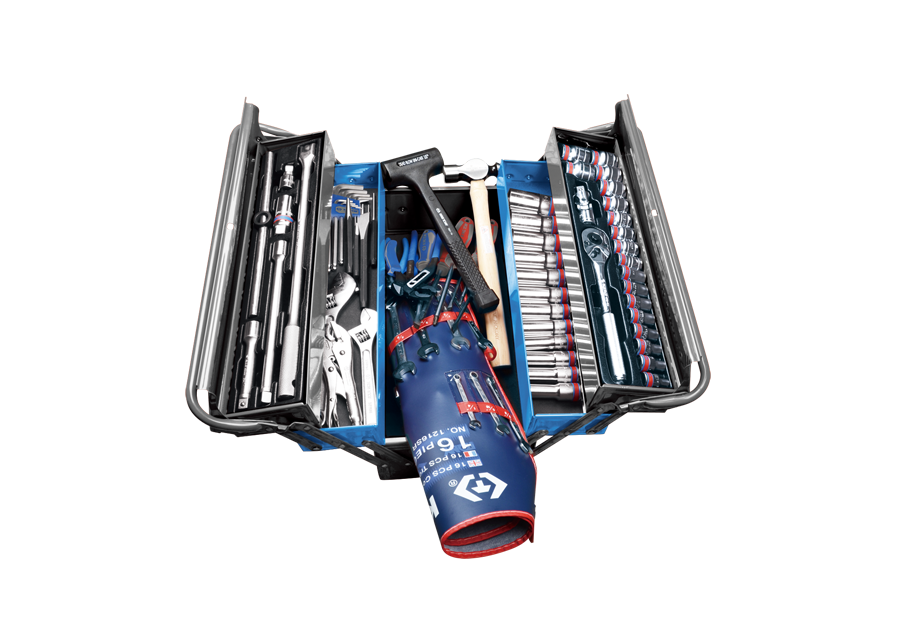 84 PC. Tool Box Set  KING TONY  9A05-084SR-KB