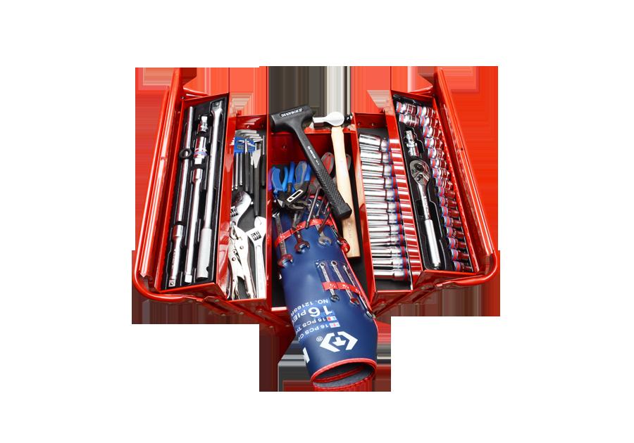 84件式 手提工具箱組  KING TONY  9A05-084SR, 永安實業工具購物網