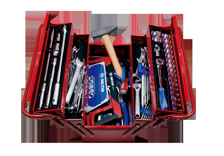 88件式 手提工具箱組  KING TONY  9A05-089MR01, 永安實業工具購物網