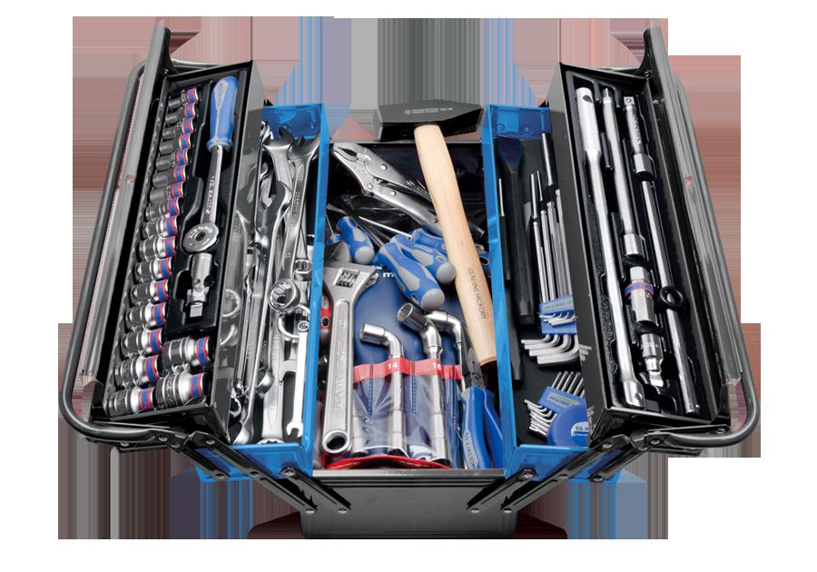 103件式 手提工具箱組  KING TONY  9A05-103MR-KB, 永安實業工具購物網