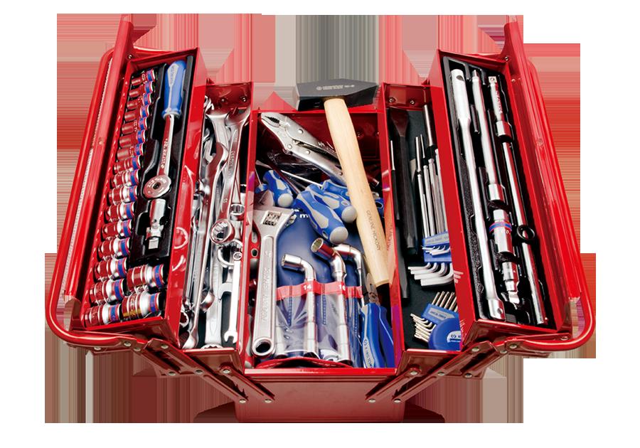 103件式 手提工具箱組  KING TONY  9A05-103MR, 永安實業工具購物網