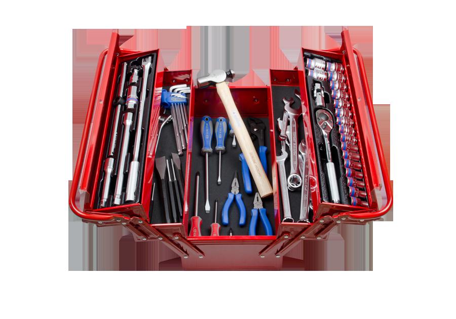 63件式 手提工具箱組  KING TONY  9A05-164MR, 永安實業工具購物網