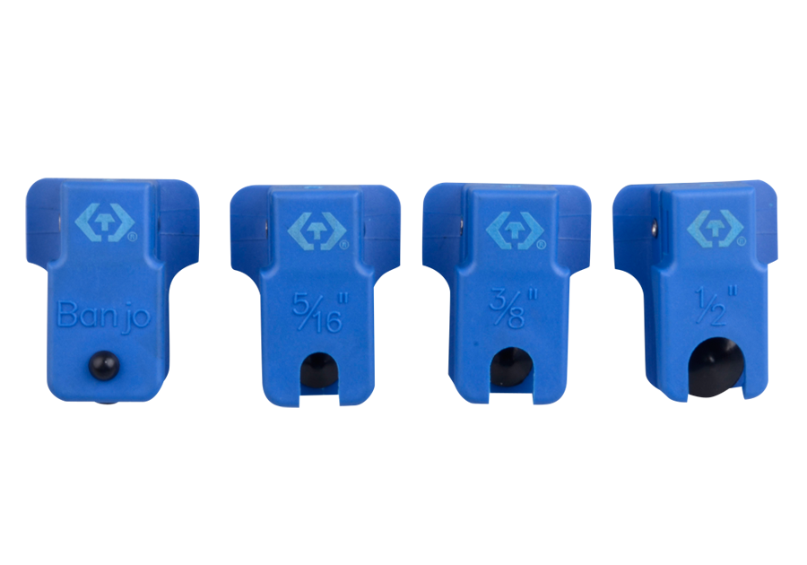 4件式 金屬油管夾組  KING TONY  9AF204, 永安實業工具購物網